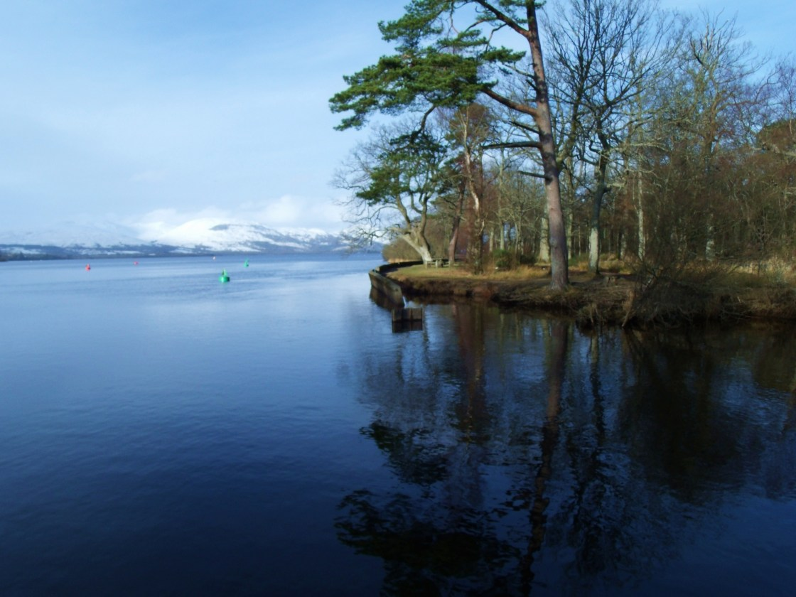 Sailing from Balloch