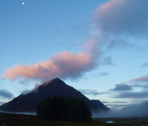 Sunrise over Buachaille Etive Mor