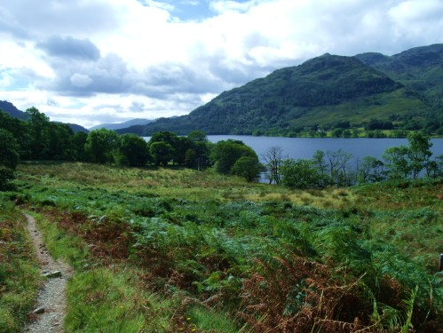 West Highland Way at Ardleash