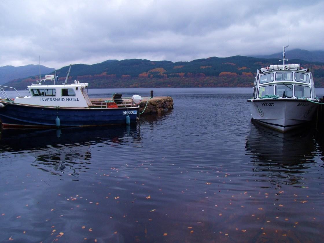 Boats at Inversnaid
