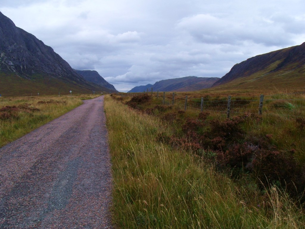 West Highland Way Using Old Military Road