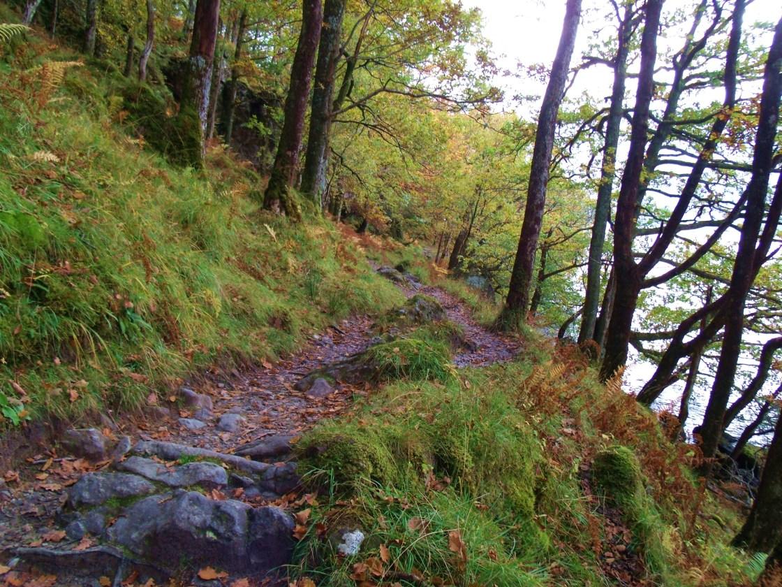 Rocky Trail at Inversnaid