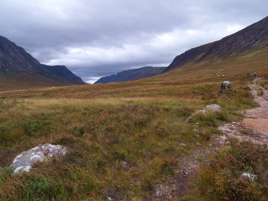 Walkers on West Highland Way