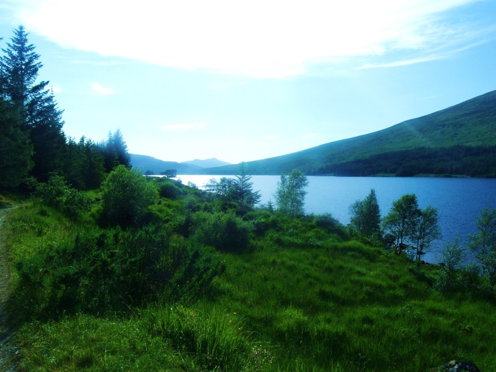 Evening At The North Of Loch Ossian