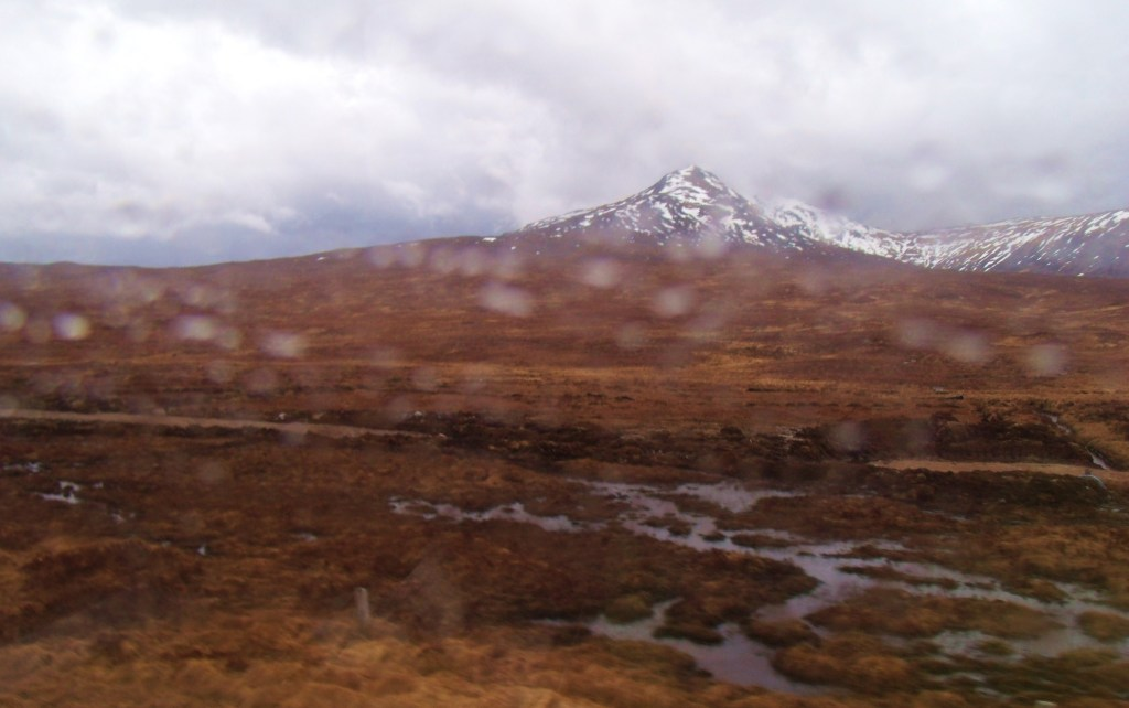 Rannoch from train