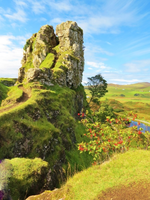 Castle of the Fairy King, Isle of Skye