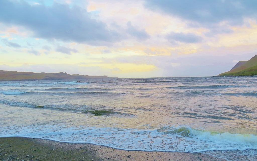 Fading Light on Brittle Beach