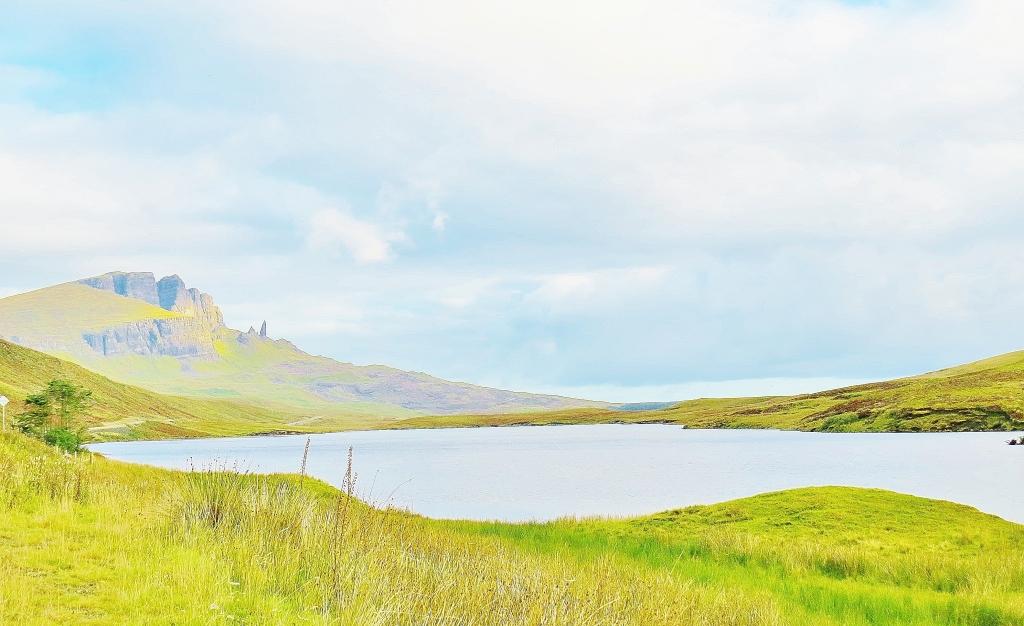 Loch Fada looking Towards the Storr