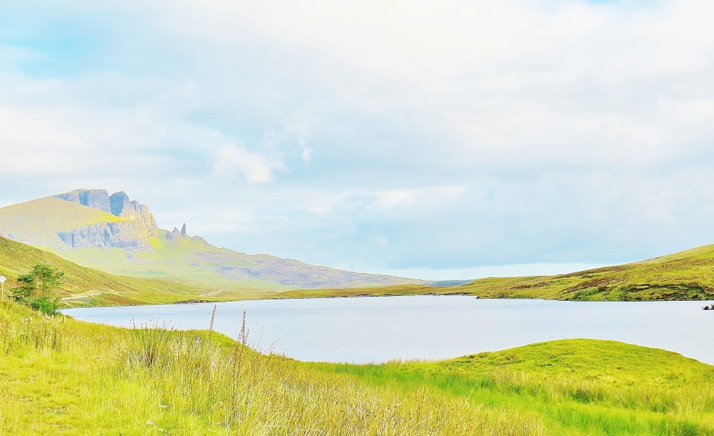 Loch Fada looking Towards the Storr