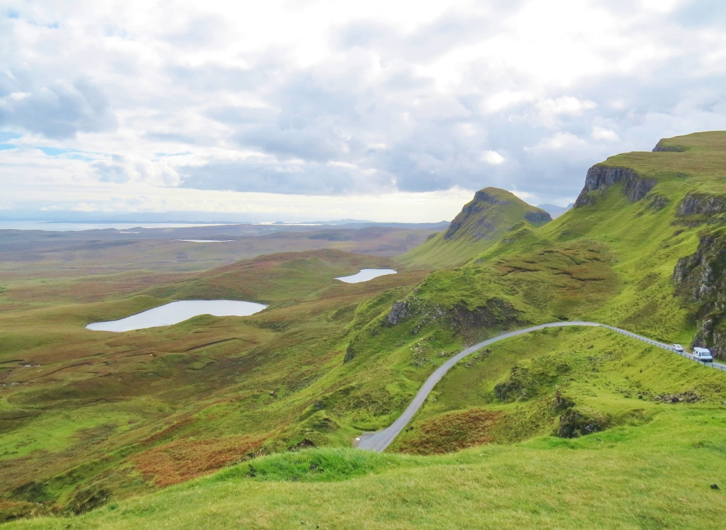 Looking North from the Quiraing