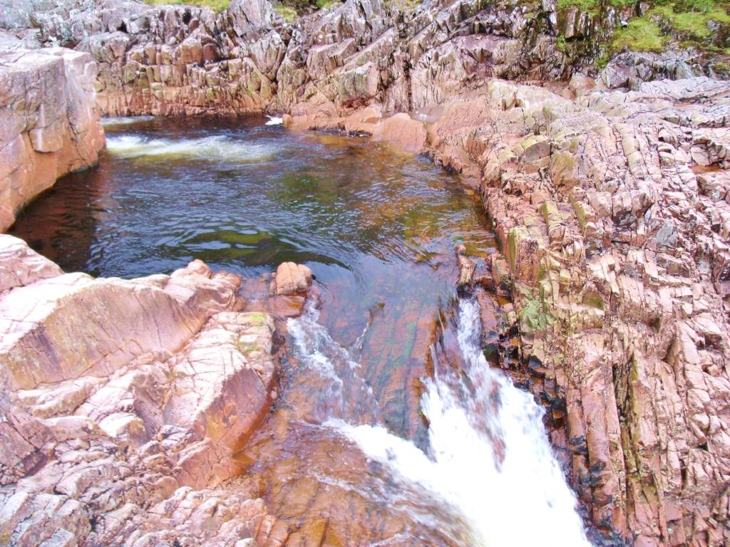 Beer Bottle Pool, River Etive
