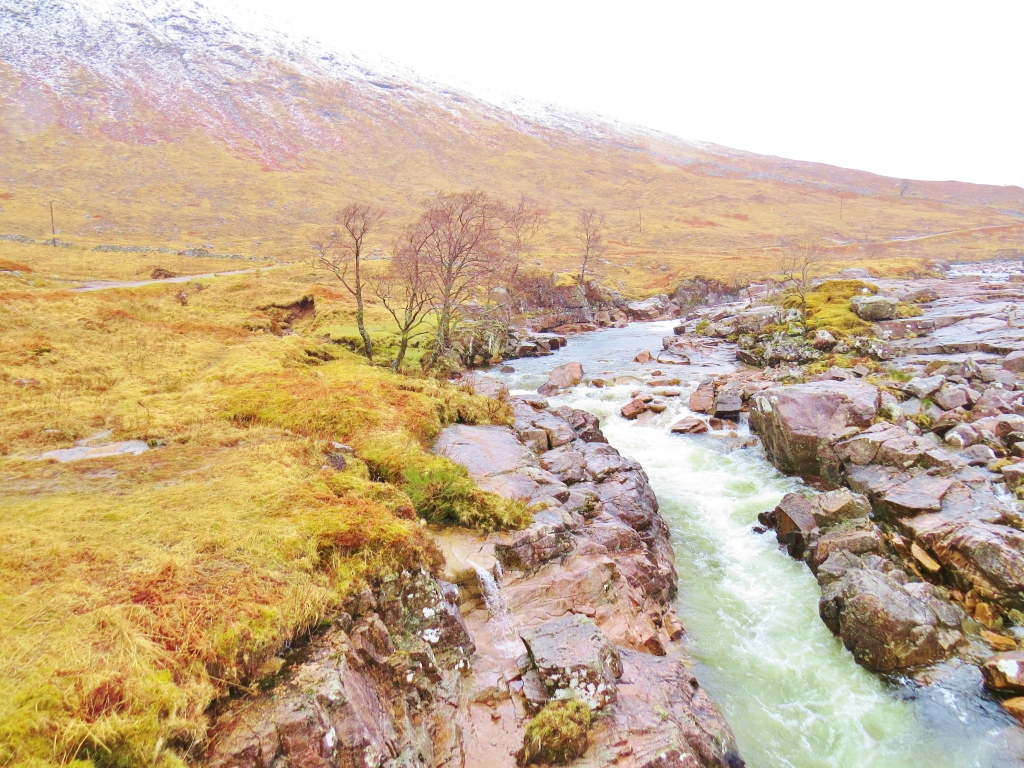 Falls on River Etive