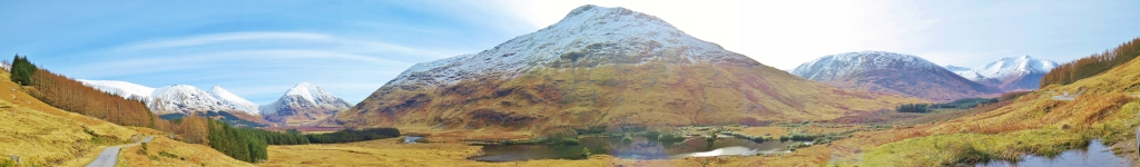 Glen Etive panorama