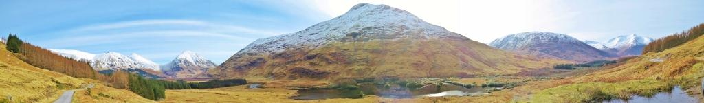 Glen Etive panorama