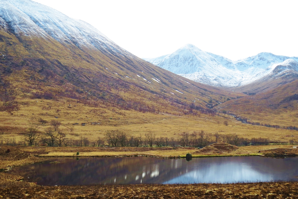 Lochan in Glen Etive