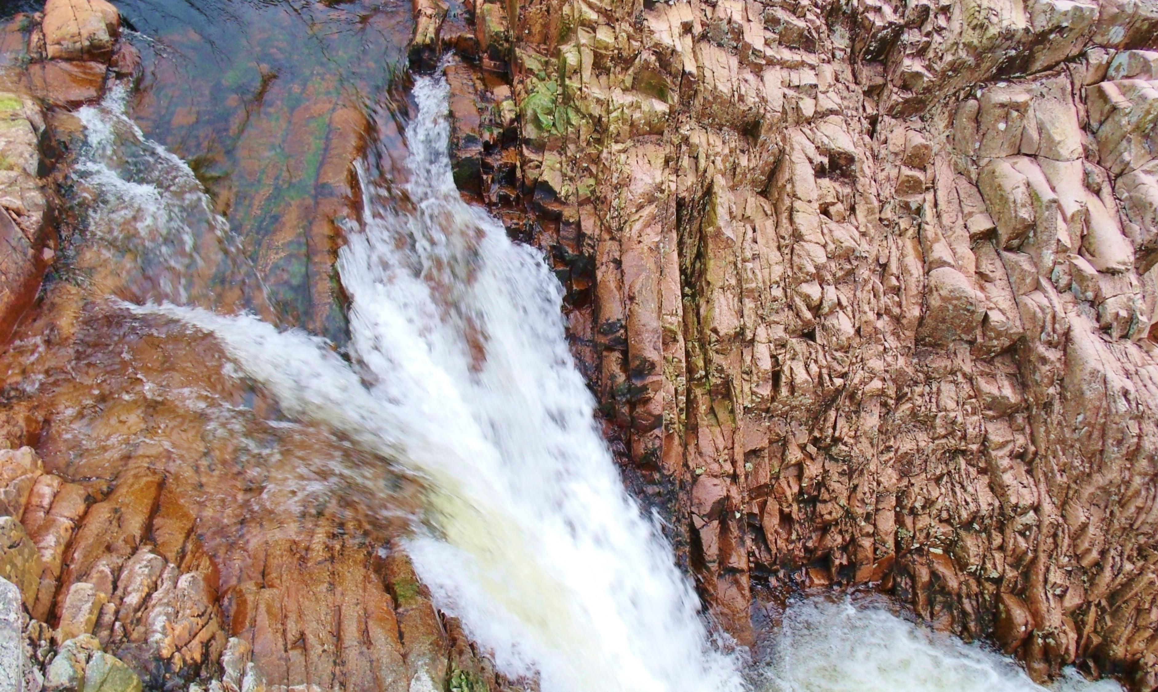 River Etive Fishing Right Angle Falls River Etive