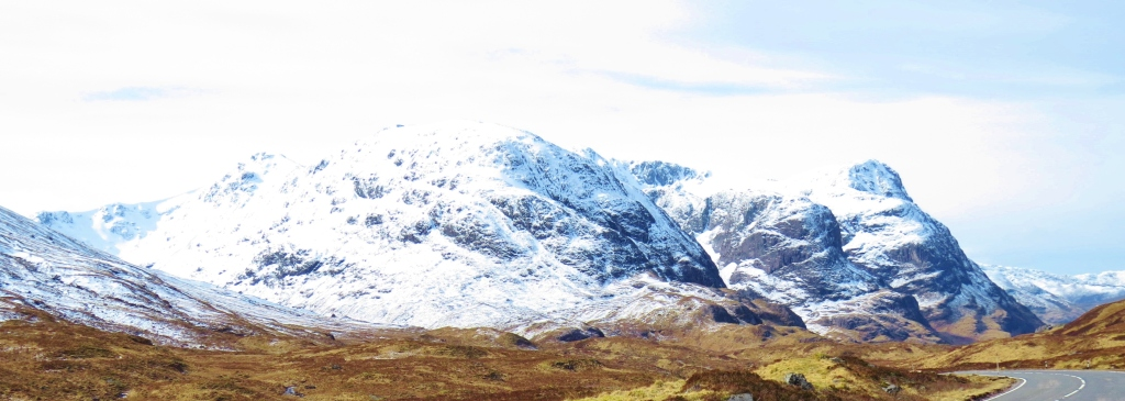 Three Sisters from Glen Etive