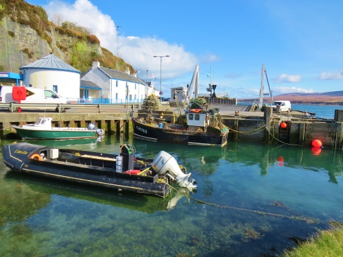 Ferry dock at Port Askaig, Islay