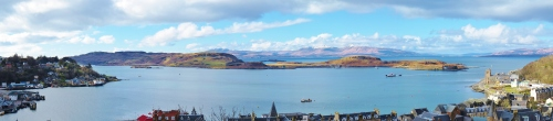 View from McCaig's Folly