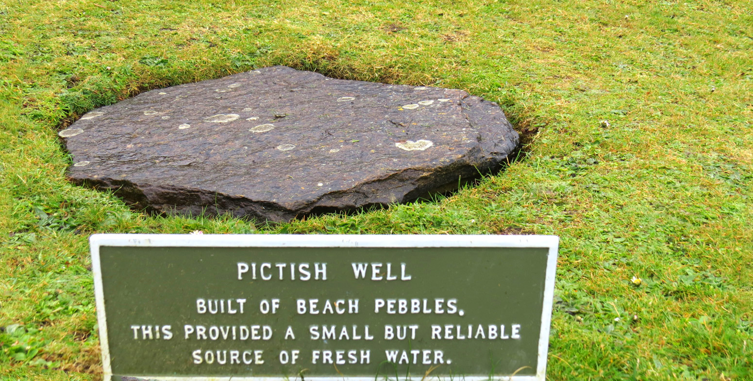 pictish well
