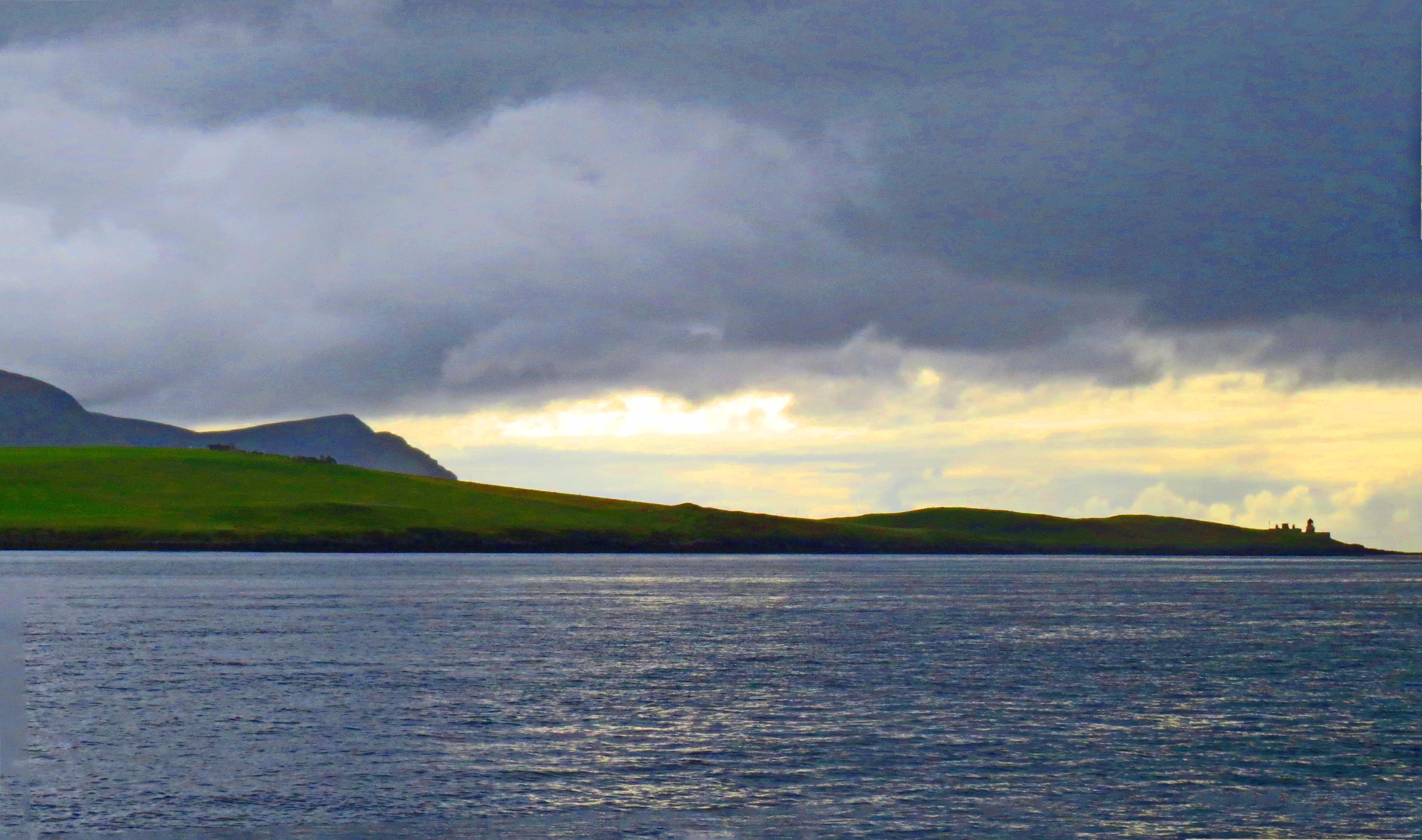 stormy sky orkneys